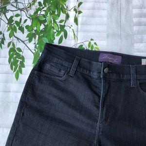 NYDJ Women's Dark Wash Bootcut Jeans Size 12